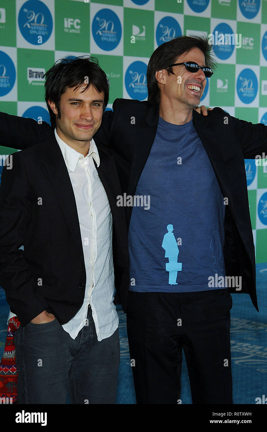 Gael Garcia Bernal arriving at the Independent Spirit Award.          -            BernalGaelGarcia01.jpgBernalGaelGarcia01  Event in Hollywood Life - - Stock Image