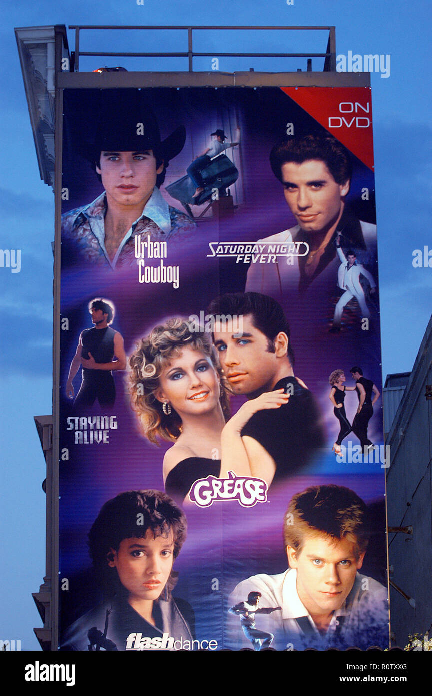 Billboard At The Party For Paramount DVD Release Of 70 Movies Grease Saturday Night Fever Flashdance Footloose Urban Cowboy And Staying Al