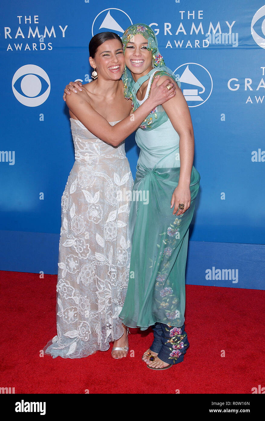 Nelly Furtado and Alicia Keys          -            DSC_1148.JPGDSC_1148  Event in Hollywood Life - California, Red Carpet Event, USA, Film Industry,  - Stock Image