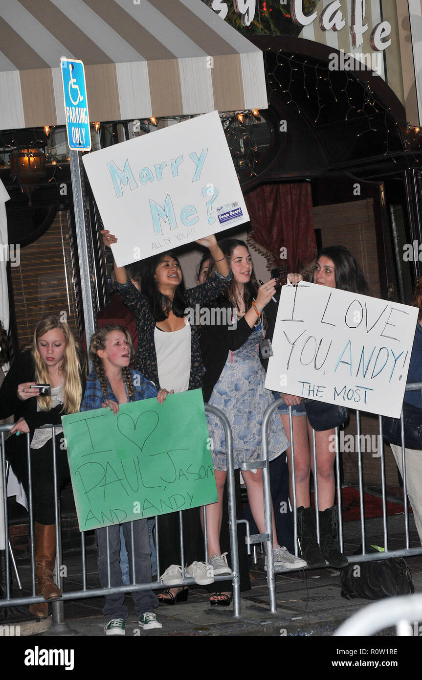 fans - I Love You, Man Premiere at The Westwood Village Theatre in Los Angeles.          -            Fans_34.jpgFans_34  Event in Hollywood Life - Ca - Stock Image