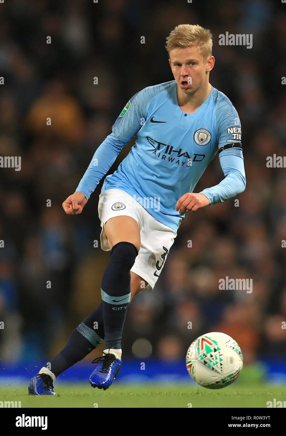 Manchester City's Alexander Zinchenko Stock Photo - Alamy