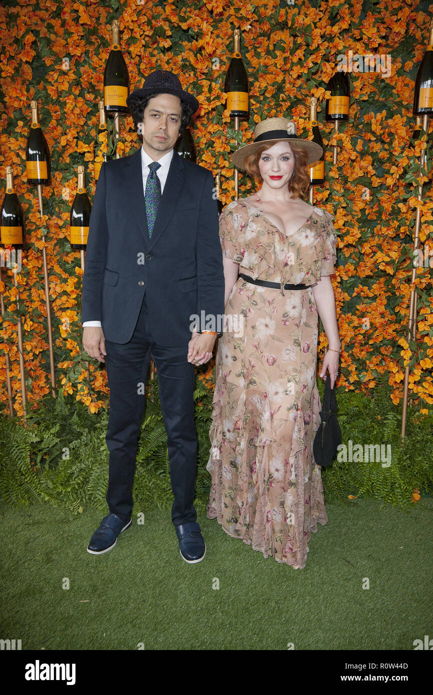 Featuring Geoffrey Arend Christina Hendricks Where Los Angeles California United States When  Credit Tony