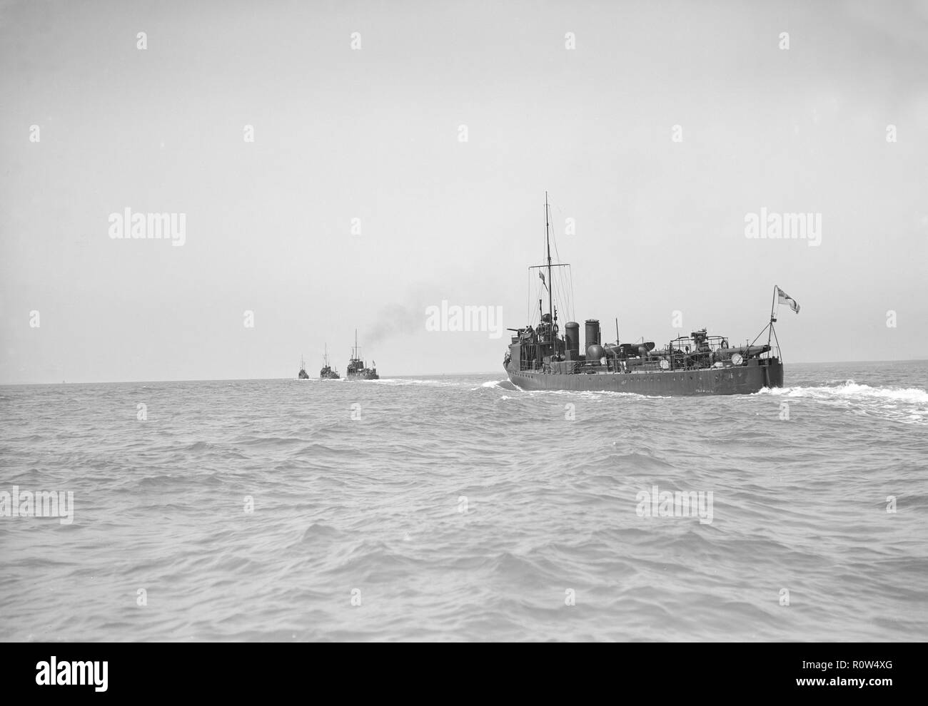 Torpedo Boat Destroyer Black and White Stock Photos & Images