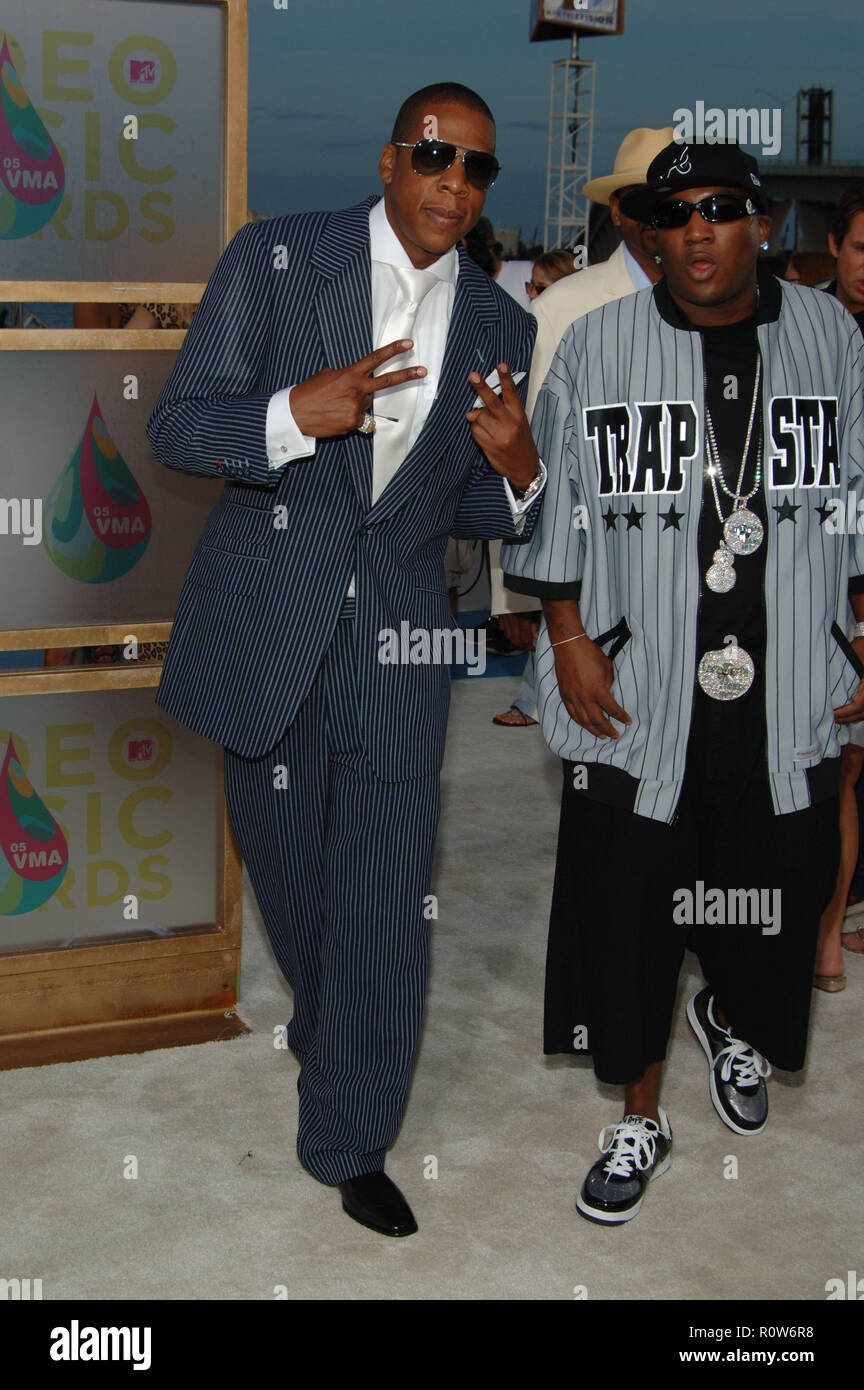 Jay-Z arrives to the MTV Music Video Awards in Miami.          -            JayZ180.jpgJayZ180  Event in Hollywood Life - California, Red Carpet Event - Stock Image