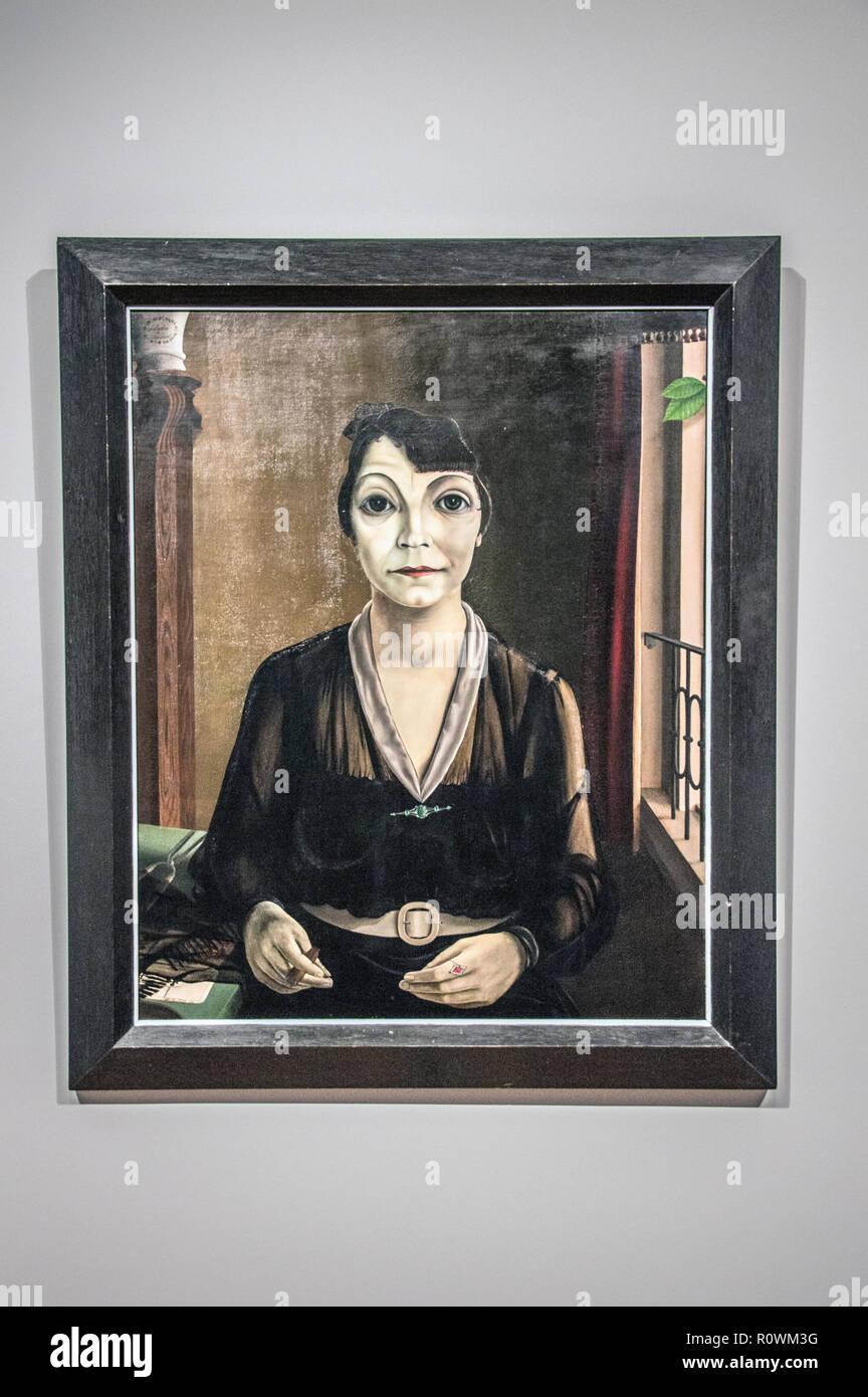Pyke Koch Mercedes De Barcelona Painting At The Rijksmuseum Amsterdam The Netherlands 2018 - Stock Image