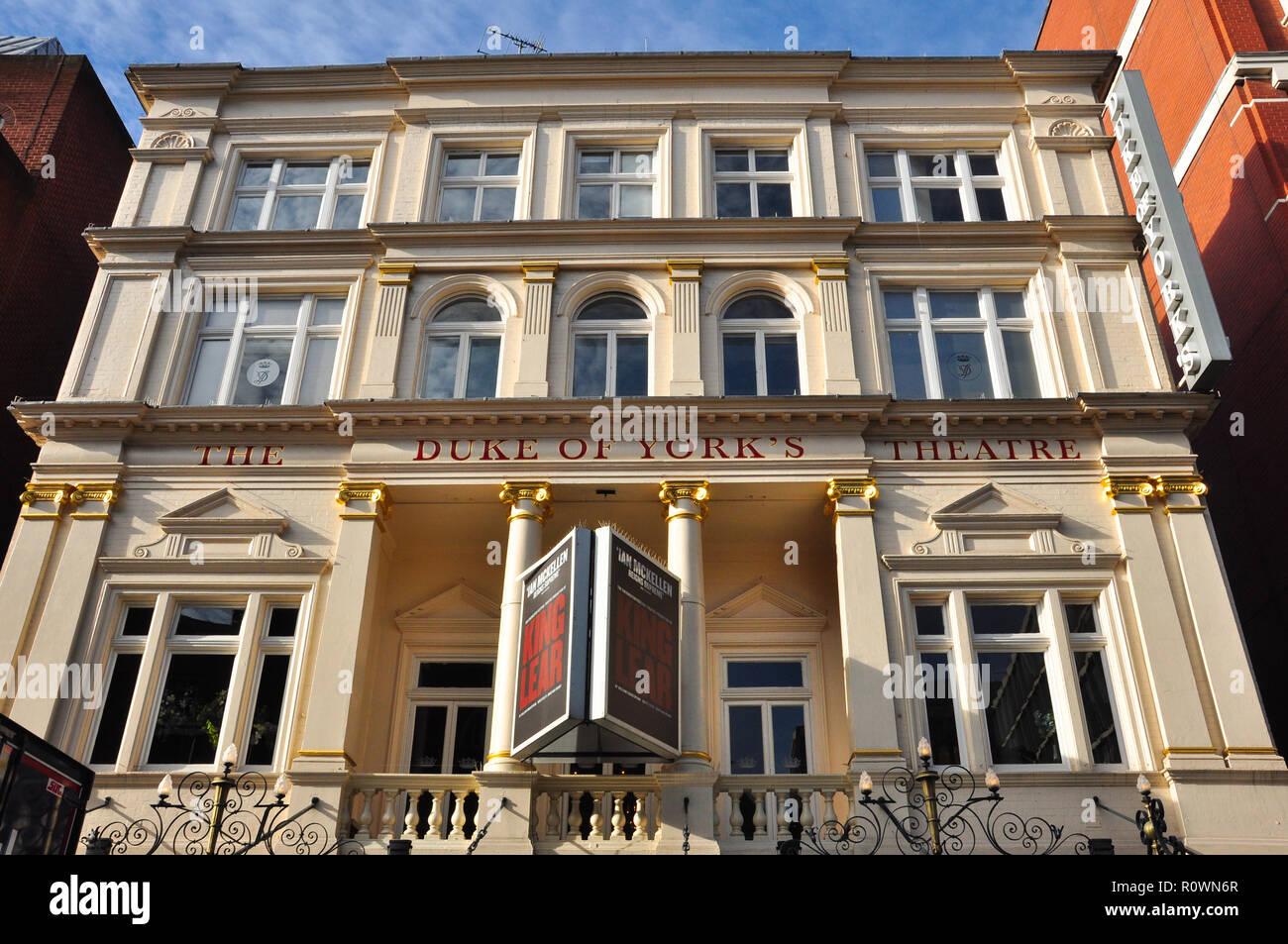 Duke of York's Theatre, St Martin's Lane, London, England, UK - Stock Image