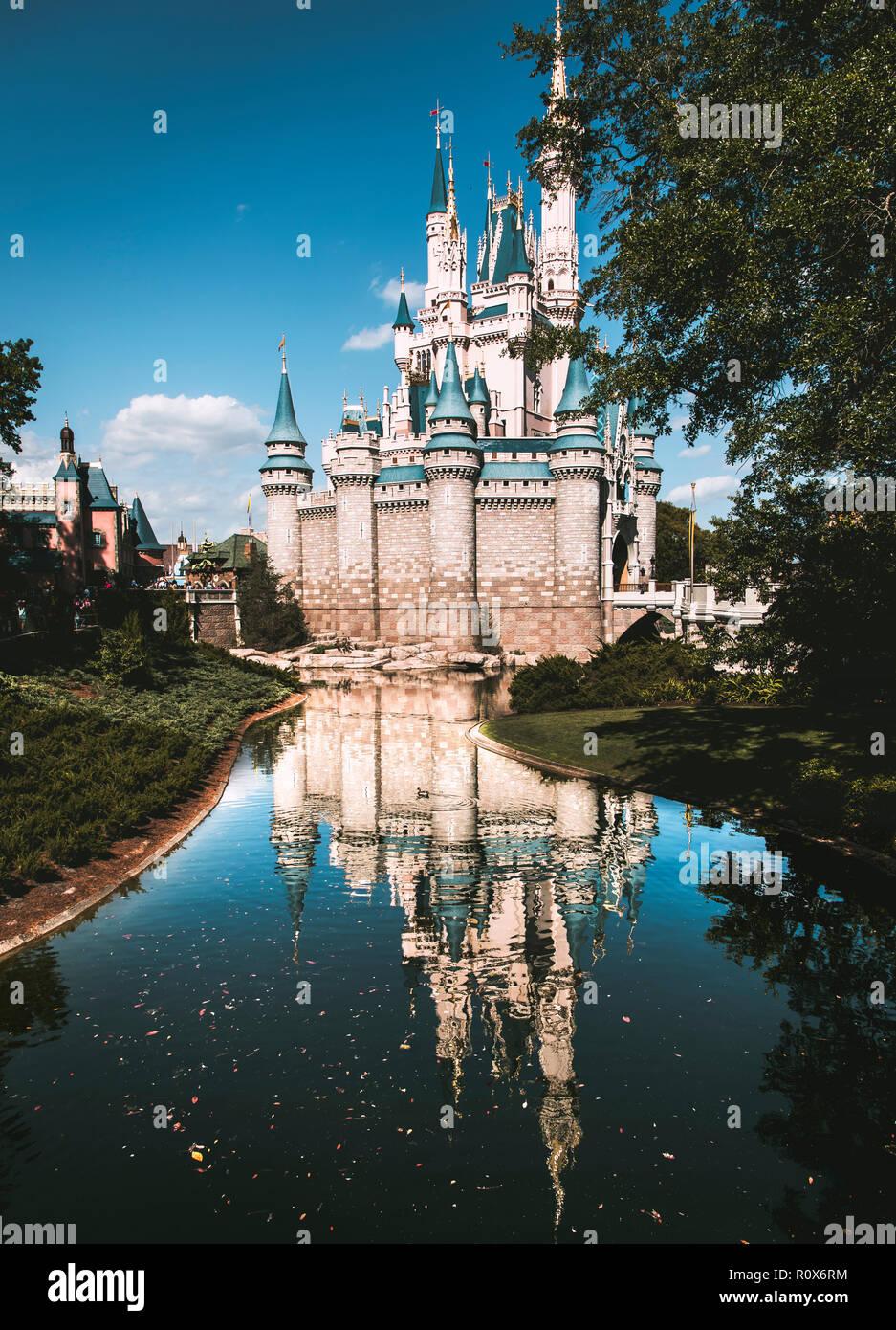 Orlando Attraction Stock Photo
