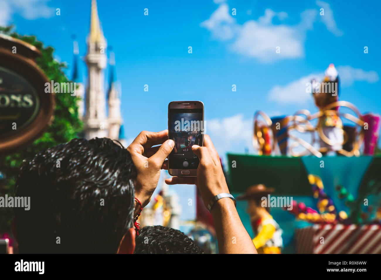 Orlando Attraction Stock Photo