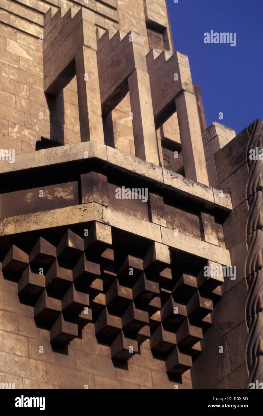NOT_1128807 SPAIN BARCELONA Sagrada Familia designed by Catalan architect Antoni Gaudí (1852–1926) - Stock Image