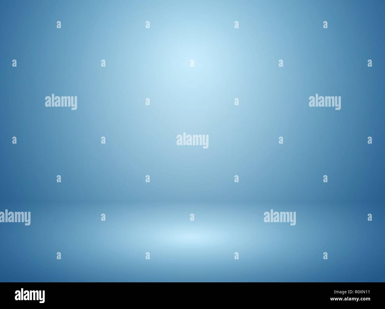 Abstract soft blur of gradient blue studio and wall background. vector eps10 - Stock Vector