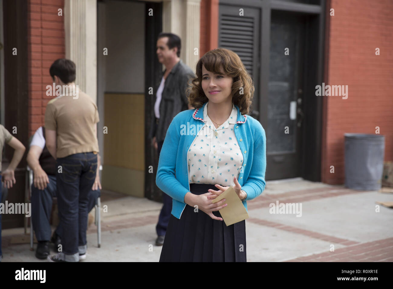 Linda Cardellini as Dolores Vallelonga in 'Green Book,' directed by Peter Farrelly. (2018) (Credit Photo: Universal Studios / The Hollywood Archive) - Stock Image