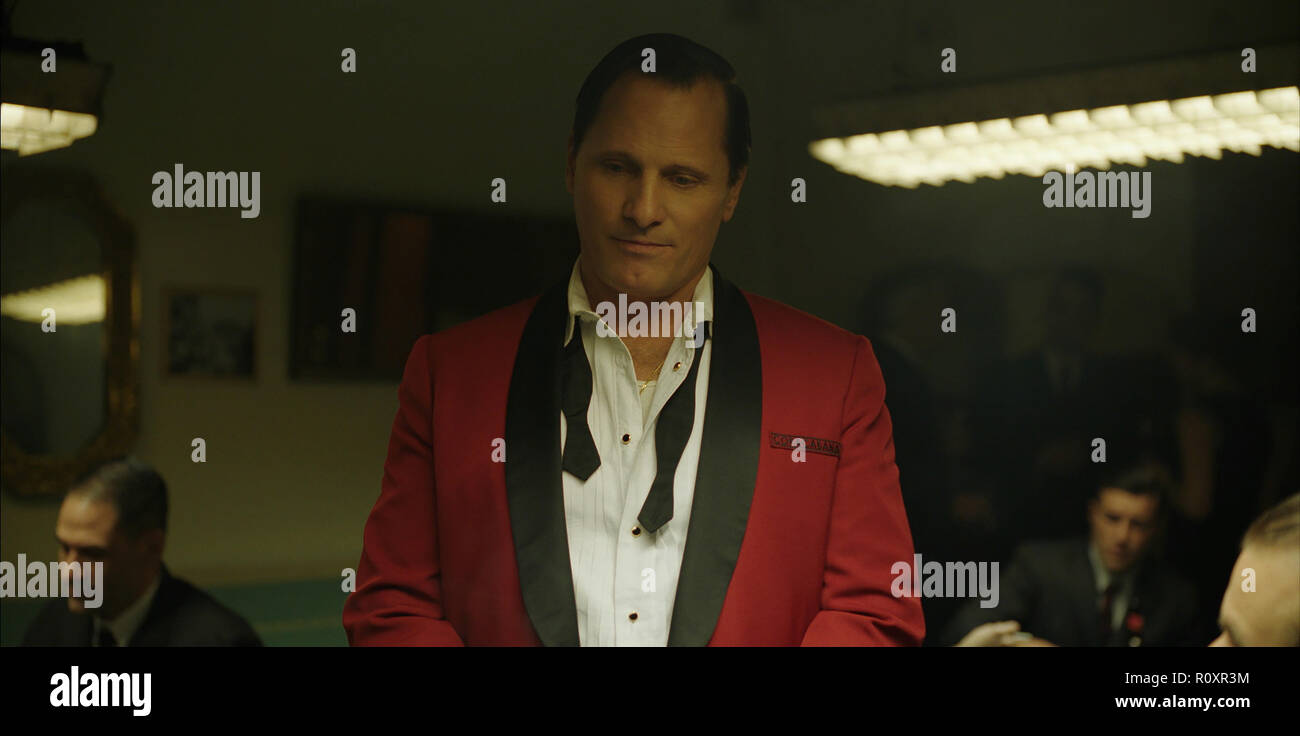 Viggo Mortensen as Tony Vallelonga in 'Green Book,' directed by Peter Farrelly. (2018) (Credit Photo: Universal Studios / The Hollywood Archive) - Stock Image