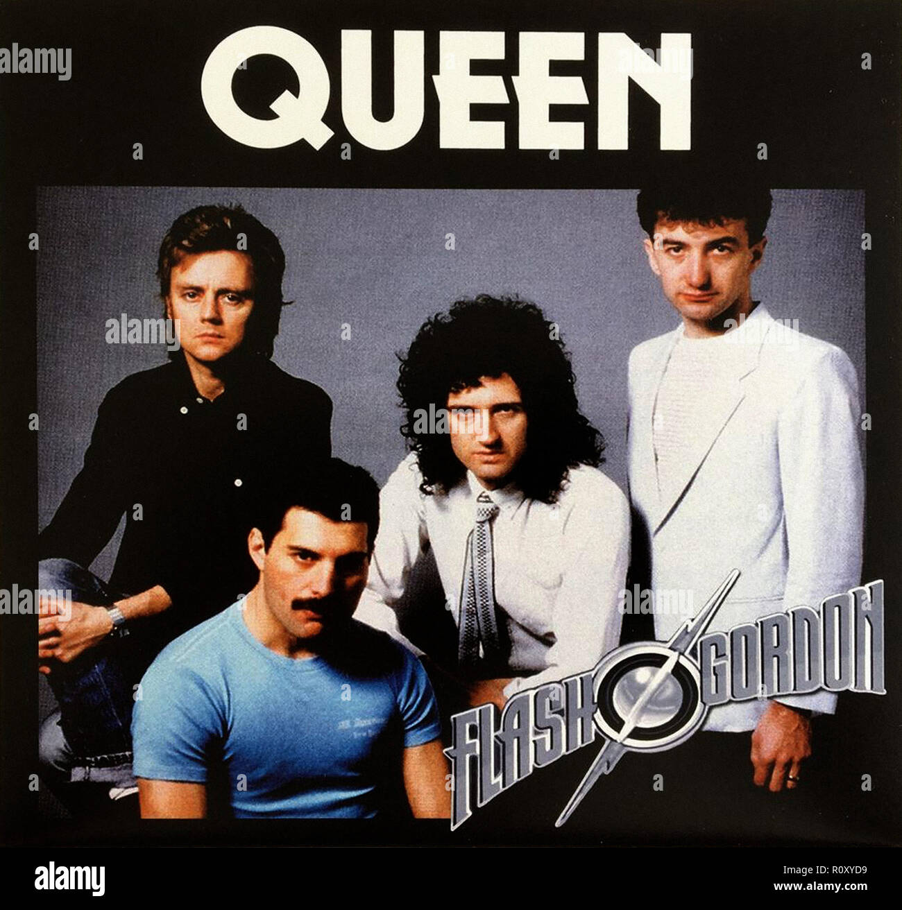 QUEEN - FLASH GORDON - Vintage cover album Stock Photo: 224327077