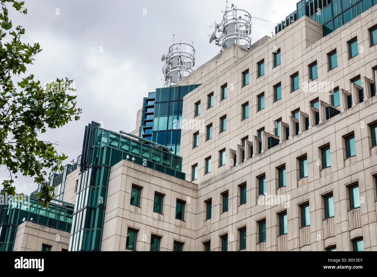 London England United Kingdom Great Britain Lambeth Vauxhall MI6 Counter Terrorism Command CTC SO15 Specialist Operations branch London's Metropolitan - Stock Image
