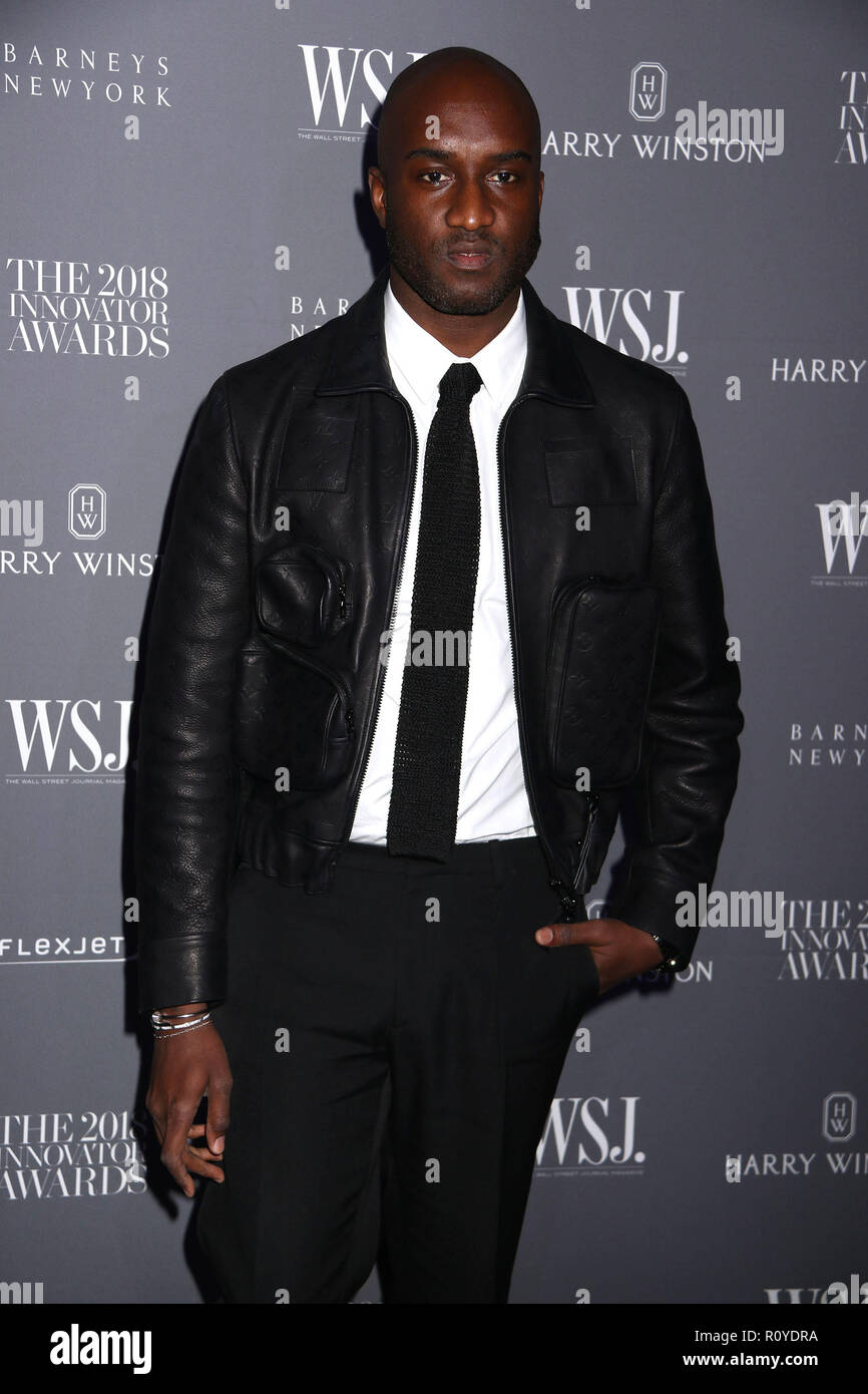 a44fa09ee1ff November 7, 2018 - New York City, New York, U.S. - Designer VIRGIL ABLOH  attends the WSJ. Magazine 2018 Innovator Awards held at the Museum of  Modern Art. ...