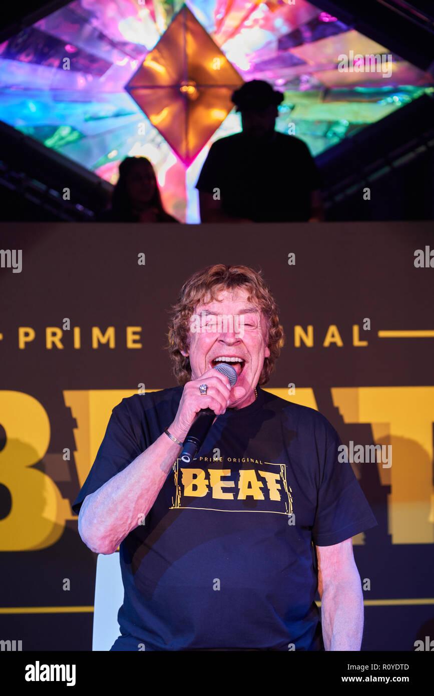 Berlin, Germany  08th Nov, 2018  The pop singer Tony