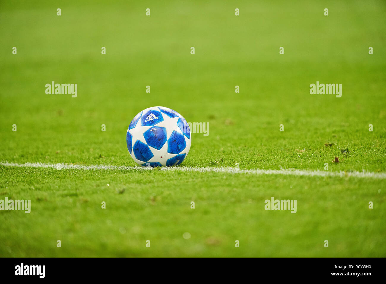 Uefa Champions League Ball Adidas Stock Photos   Uefa Champions ... 9659dc3b39397