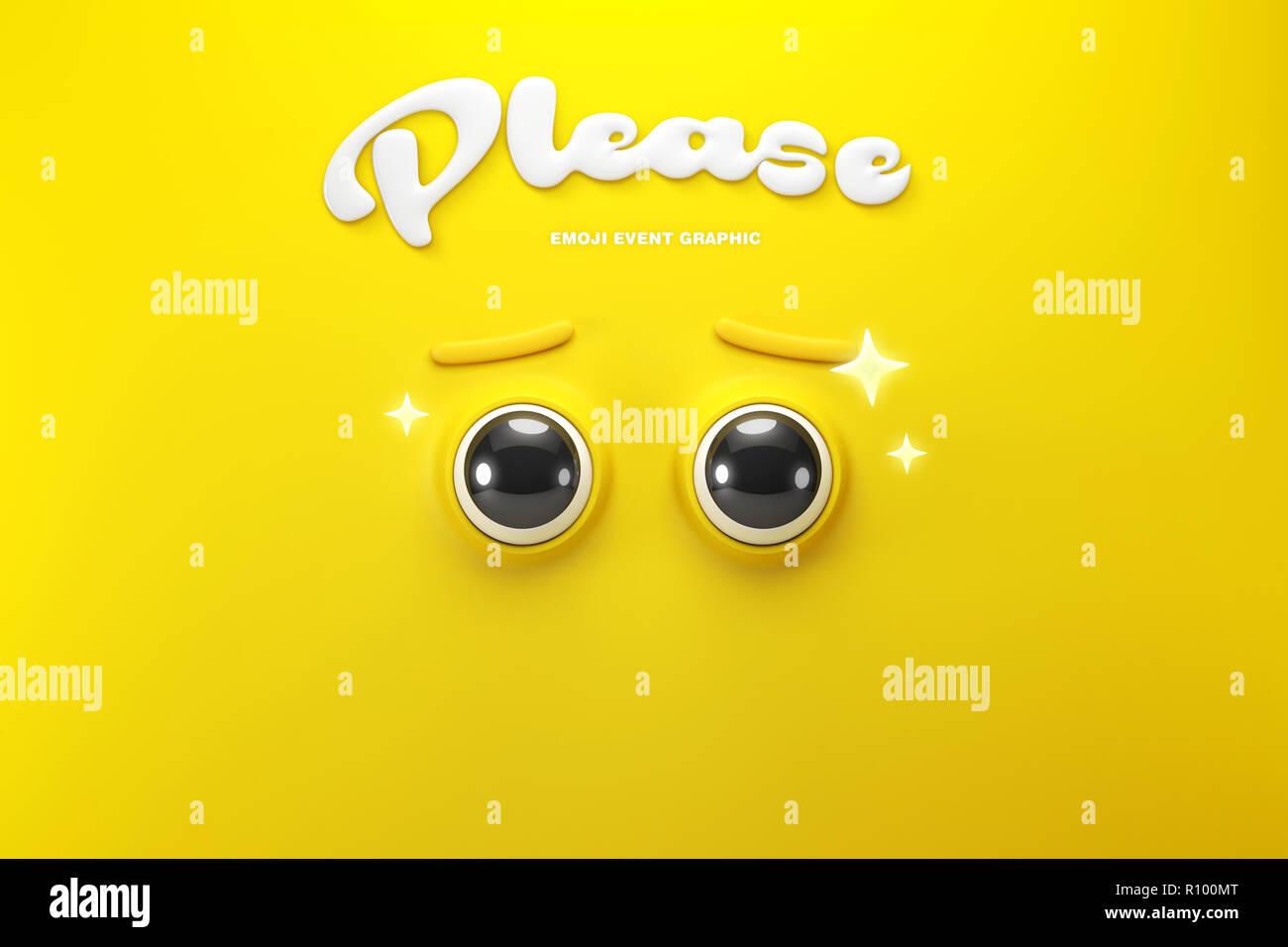 Emoji event 007 - Stock Image