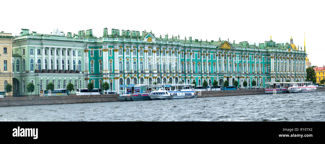 St. Petersburg, Russian Sankt Peterburg, formerly (1914–24) Petrograd and (1924–91) Leningrad, city and port, extreme northwestern Russia - Stock Image