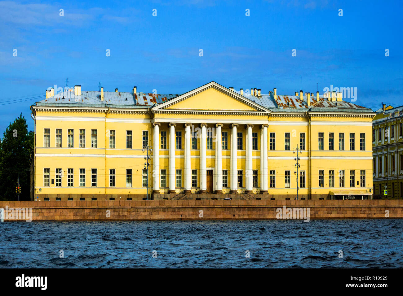 Academy of Sciences of the Russian Federation St Saint Petersburg, Russian Sankt Peterburg, formerly (1914–24) Petrograd and (1924–91) Leningrad, city Stock Photo
