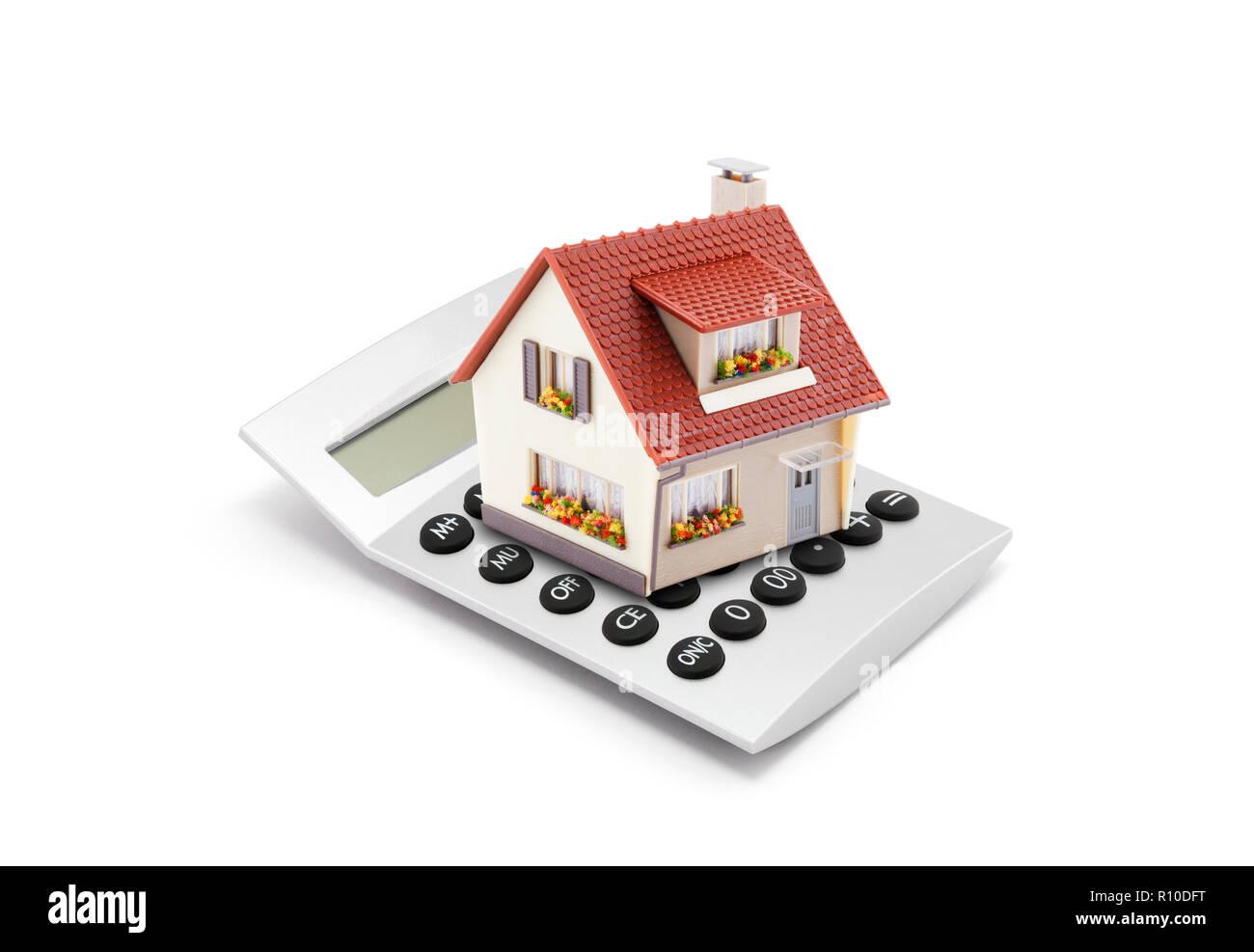 Mortgage Calculator - Stock Image