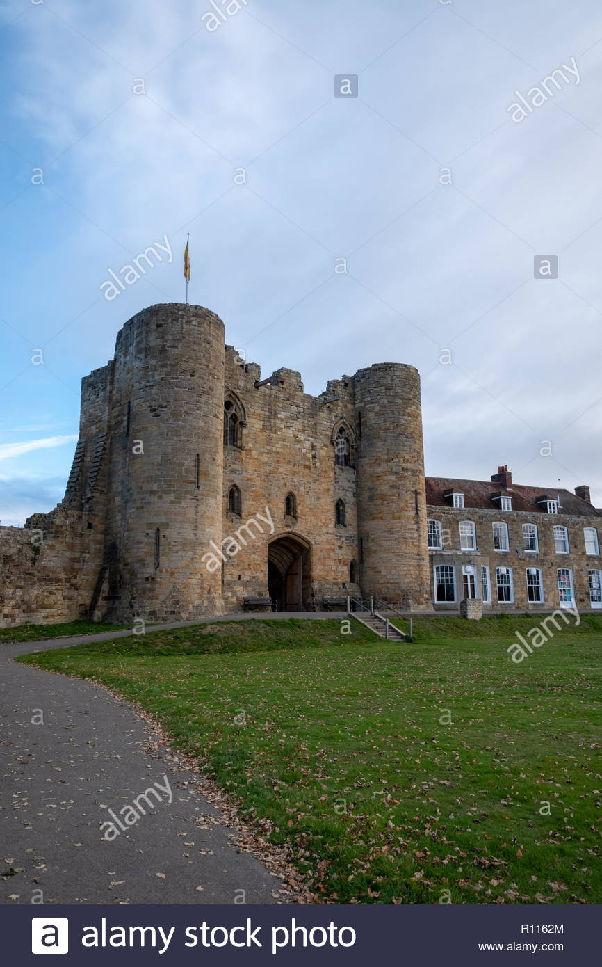 Tonbridge castle - Stock Image