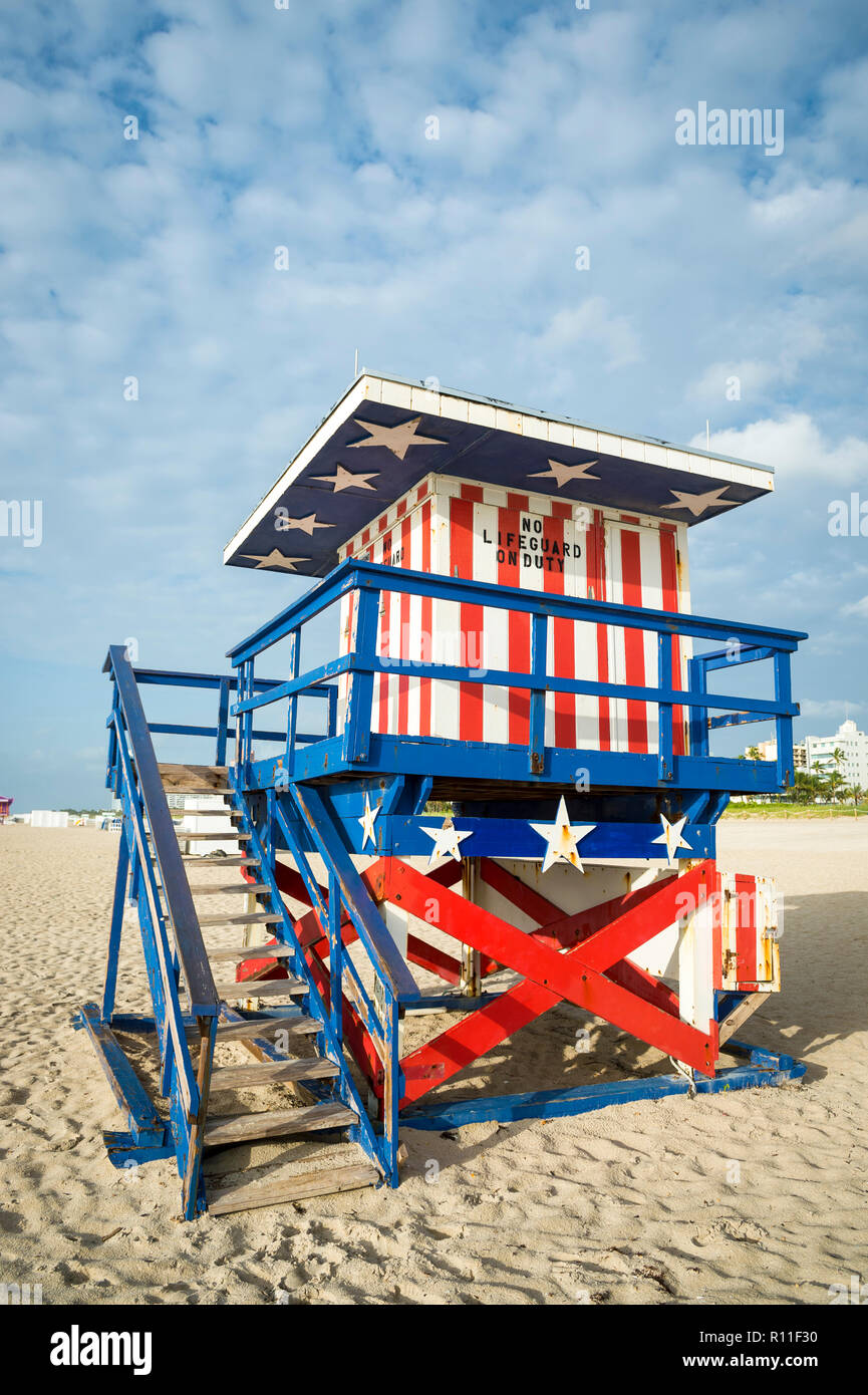 Classic Red White And Blue American Theme Stars And