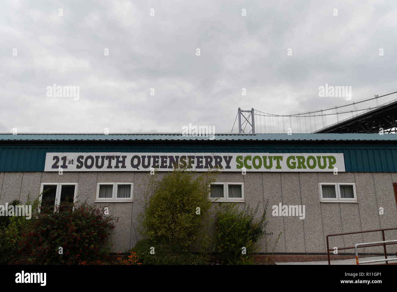 The South Queensferry Scout Hut, Port Edgar, South Queensferry, Scotland - Stock Image