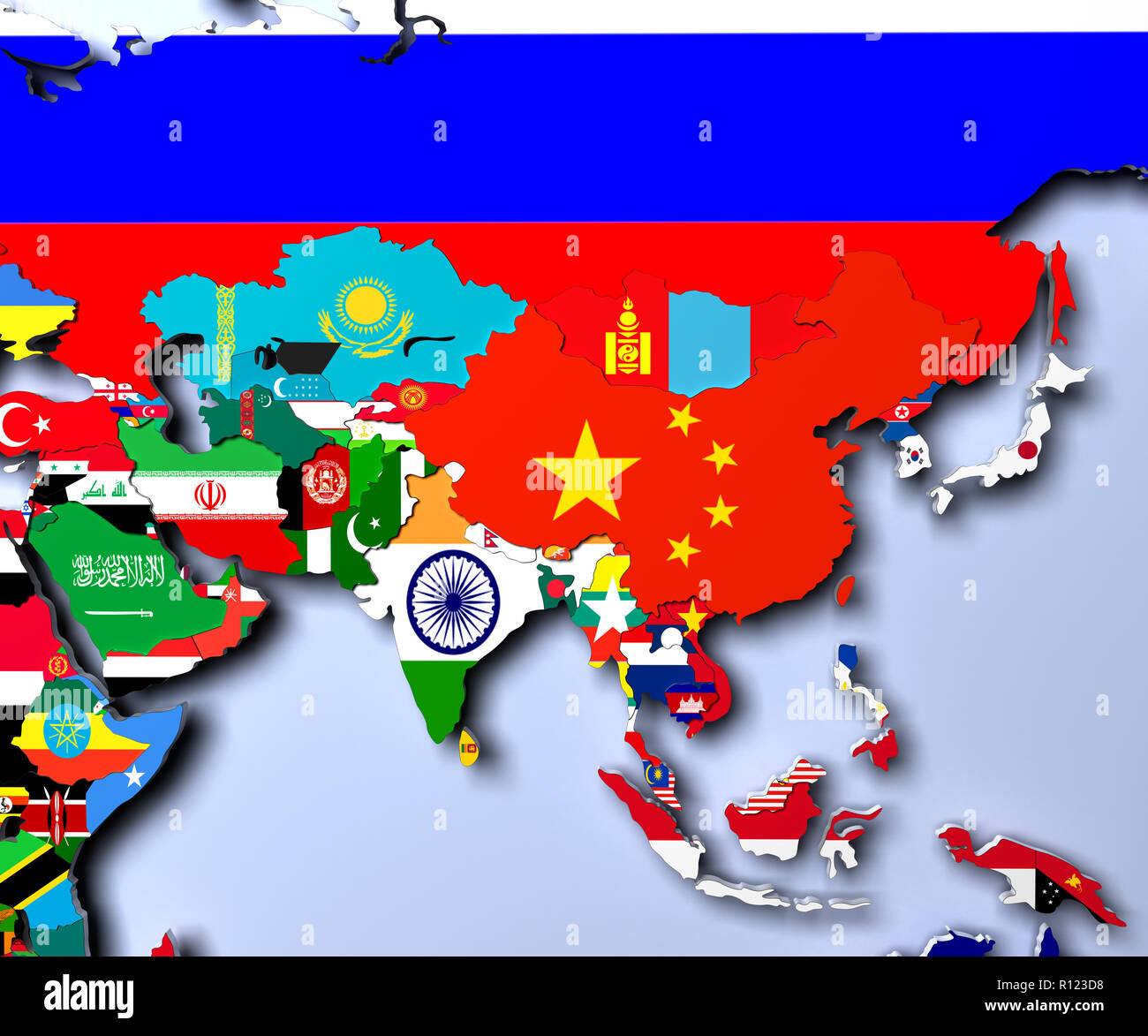 Map Of Asia 3d.Nepal Map 3d Stock Photos Nepal Map 3d Stock Images Alamy