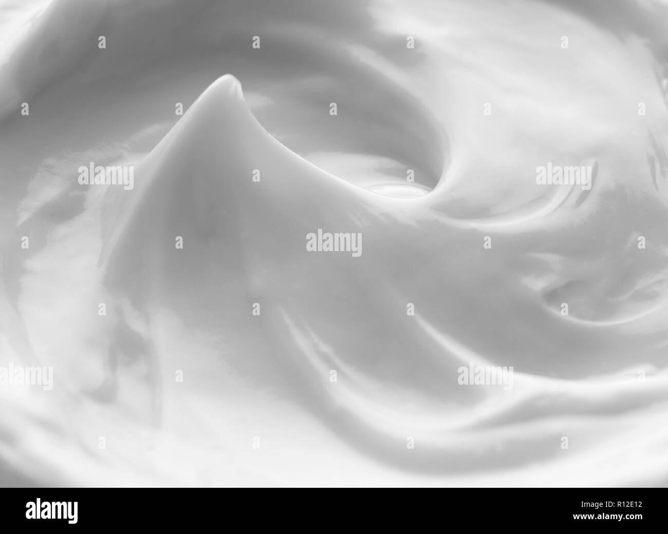 White face cream - Stock Image