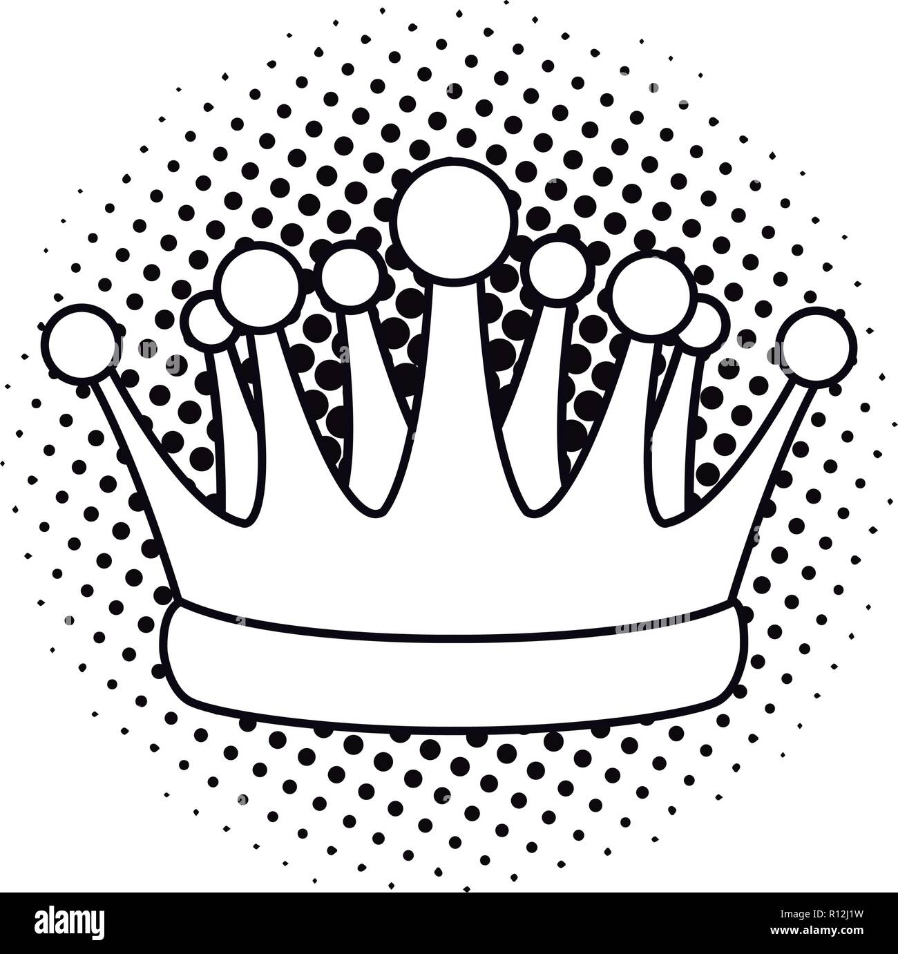 Pop Art Crown Cartoon Black And White Stock Vector Image Art Alamy Click to subscribe to my youtube here! https www alamy com pop art crown cartoon black and white image224407509 html