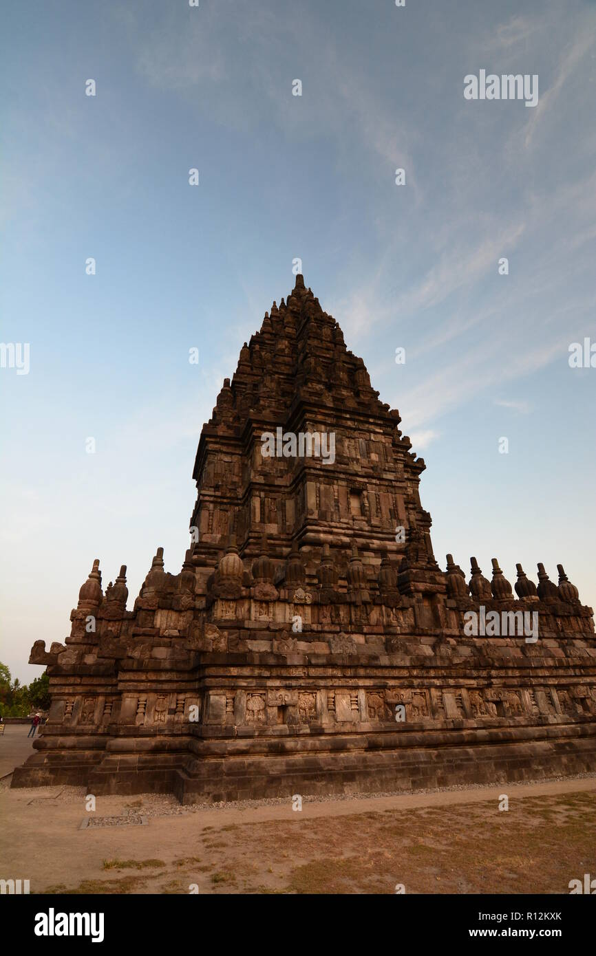 The Brahma temple. Prambanan. Yogyakarta. Central Java. Indonesia - Stock Image