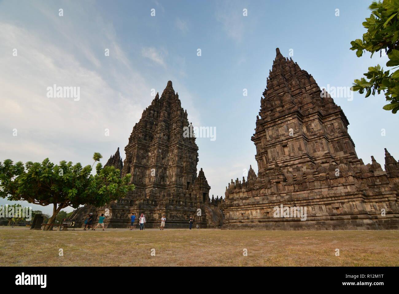 Prambanan temples. Yogyakarta. Central Java. Indonesia - Stock Image