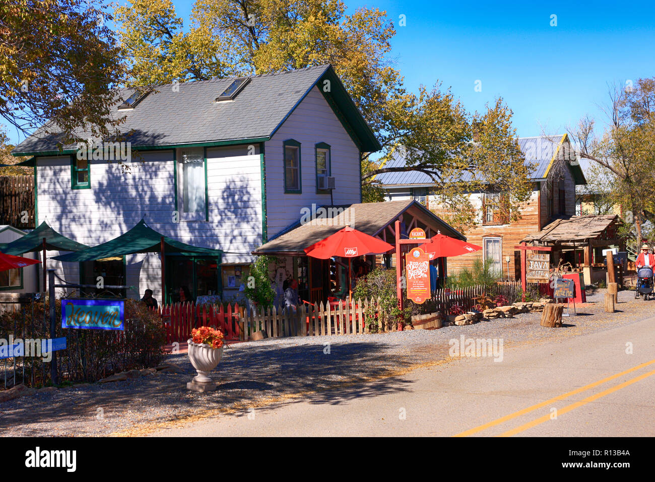 The Java Junction Cafe and Kitchen Goods store on Highway NM ...