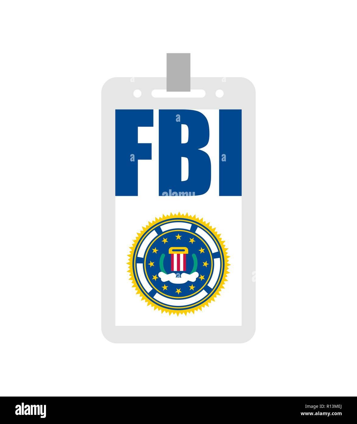 Fbi Badge Stock Photos & Fbi Badge Stock Images - Alamy