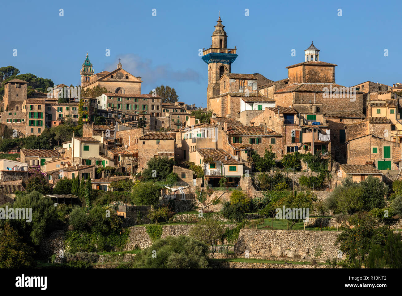 Valldemossa, Mallorca, Balearic Islands, Spain, Europe - Stock Image