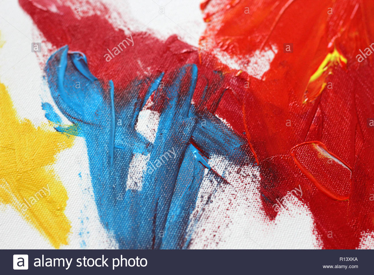 Full Frame Arts And Craft Shot Of A Painting Stock Photo 224436222