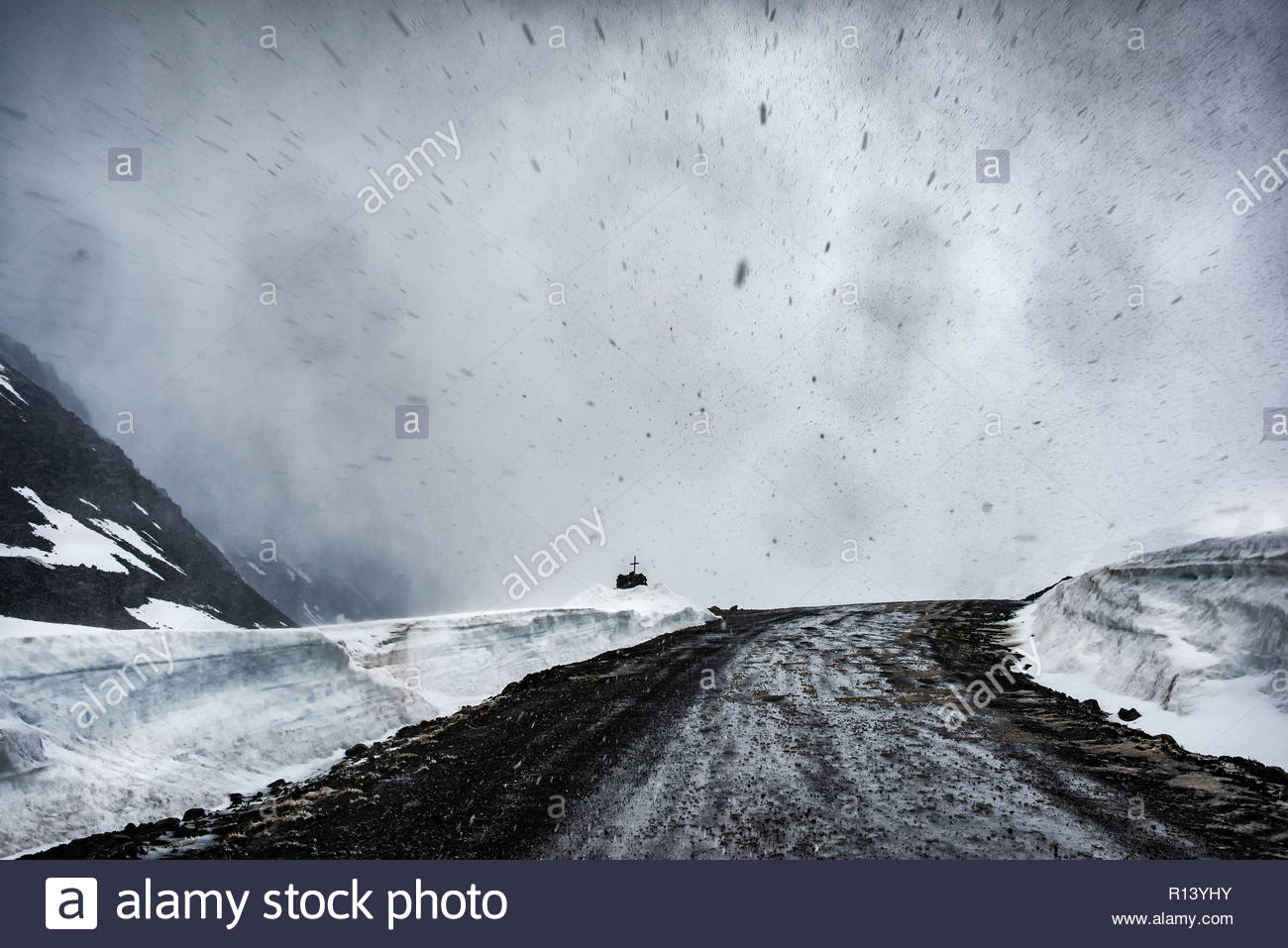 Stormy weather - Stock Image