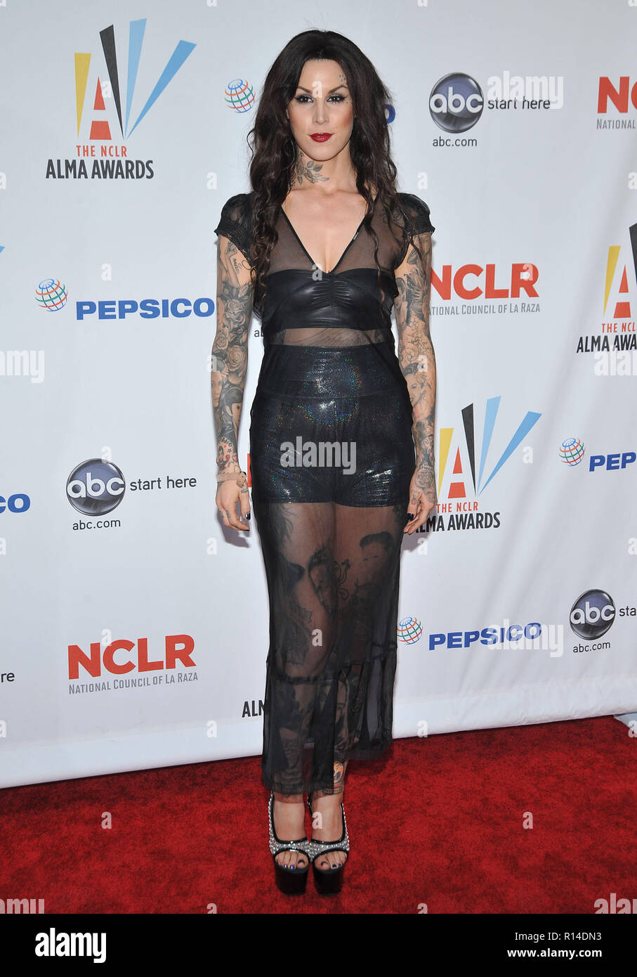 Kat Von D 2009 Alma Awards At The Royce Hall In Los Angeles