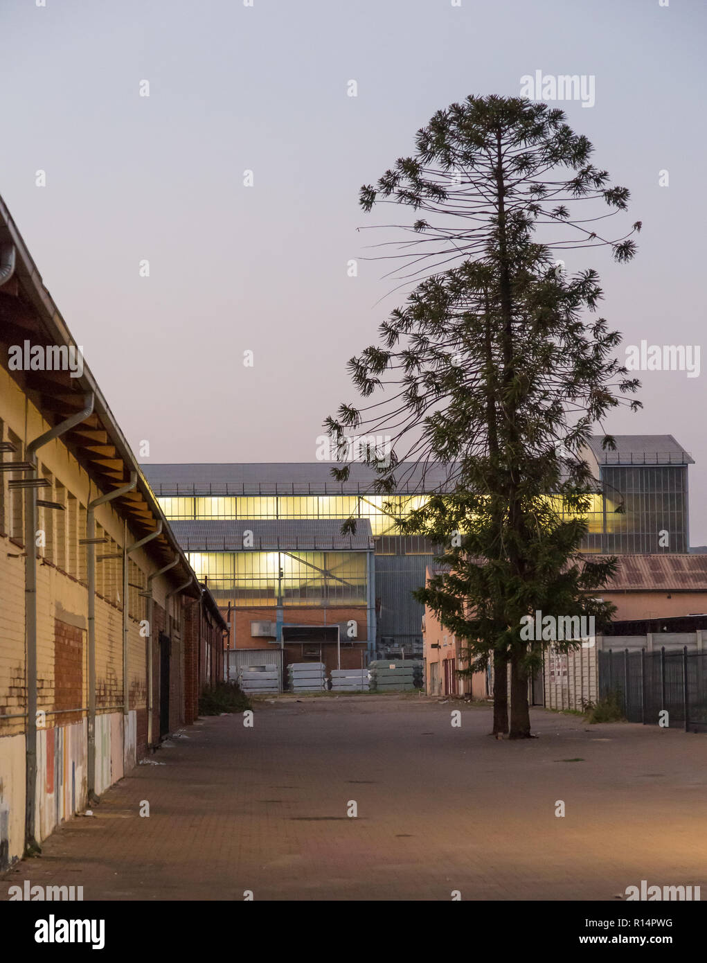 Pretoria west, the industrial side of Pretoria, South Africa - Stock Image