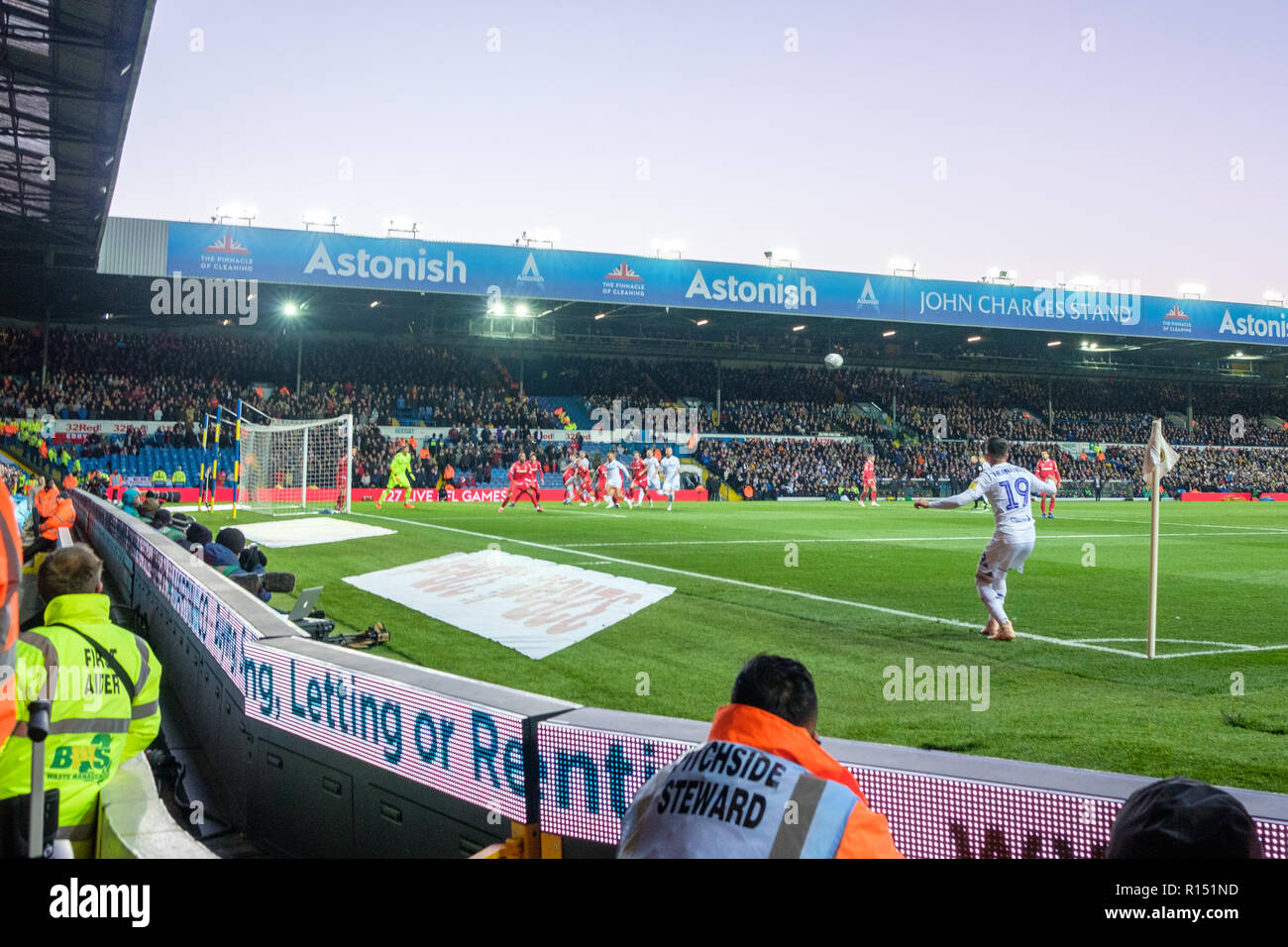Leeds United Football Stadium Elland Road High Resolution Stock Photography And Images Alamy