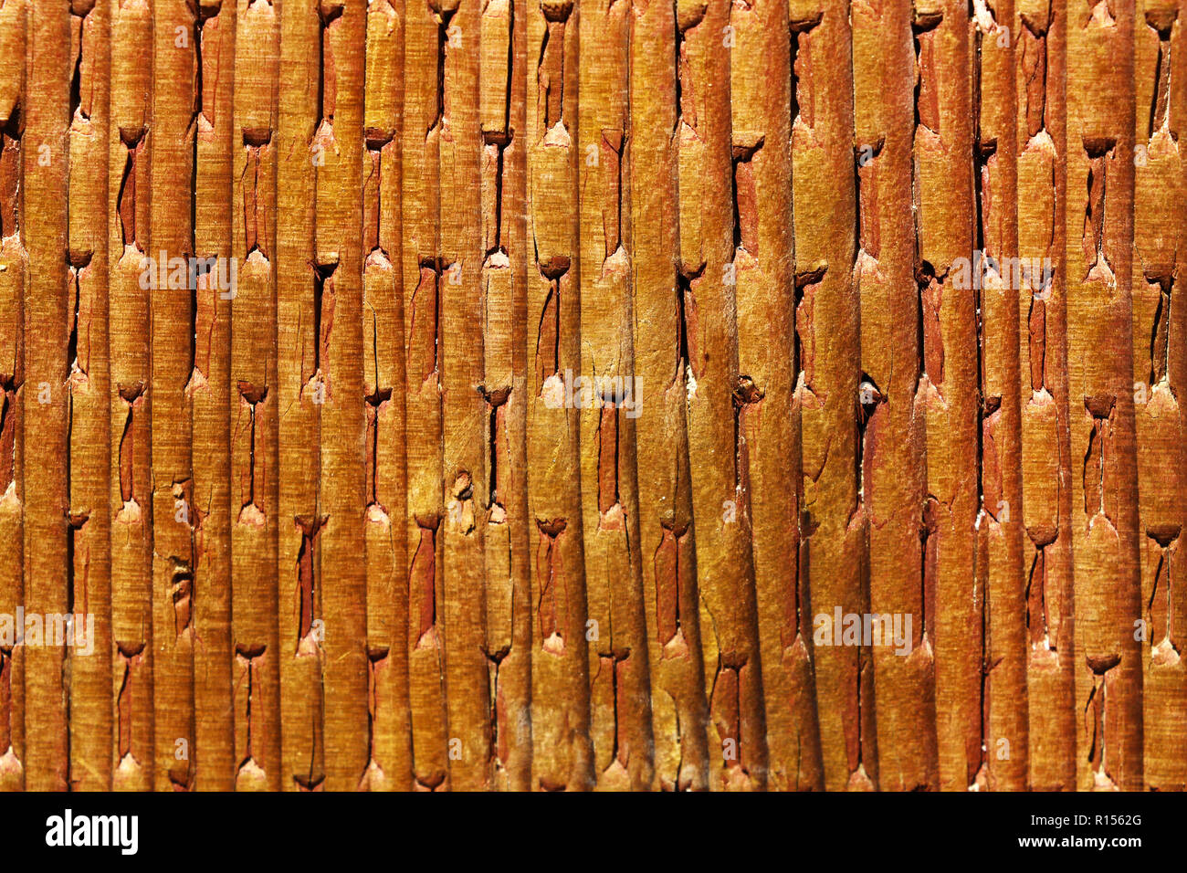 Wood Texture Surface Of Teak Wood Background For Design And