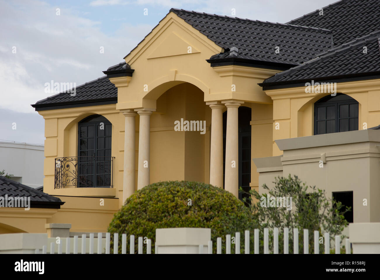 Nice Houses In Australia Stock Photo Alamy