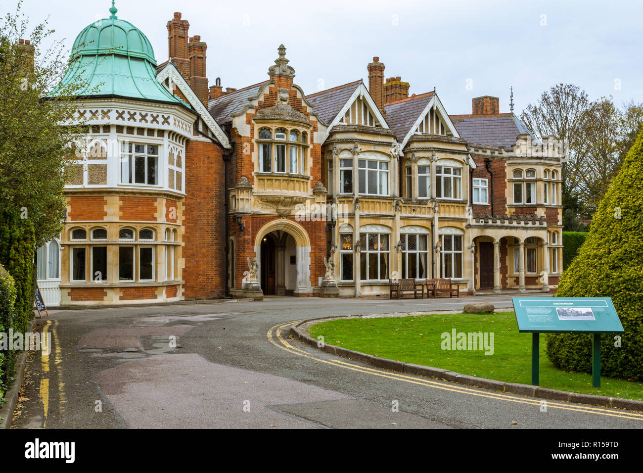 Bletchley Park Is A Nine Th Century Mansion And Was The Home Of Government Code And Cypher School During World War 11 Bletchley Bucks England Uk