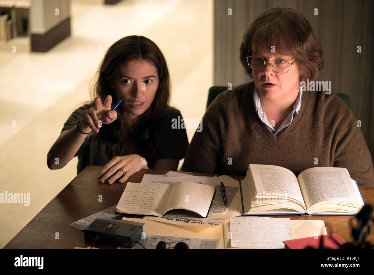 Prod DB © Mary Cybulski - Fox Searchlight Pictures - Archer Gray / DR CAN YOU EVER FORGIVE ME ? de Marielle Heller 2018 USA Marielle Heller Melissa Mc - Stock Image