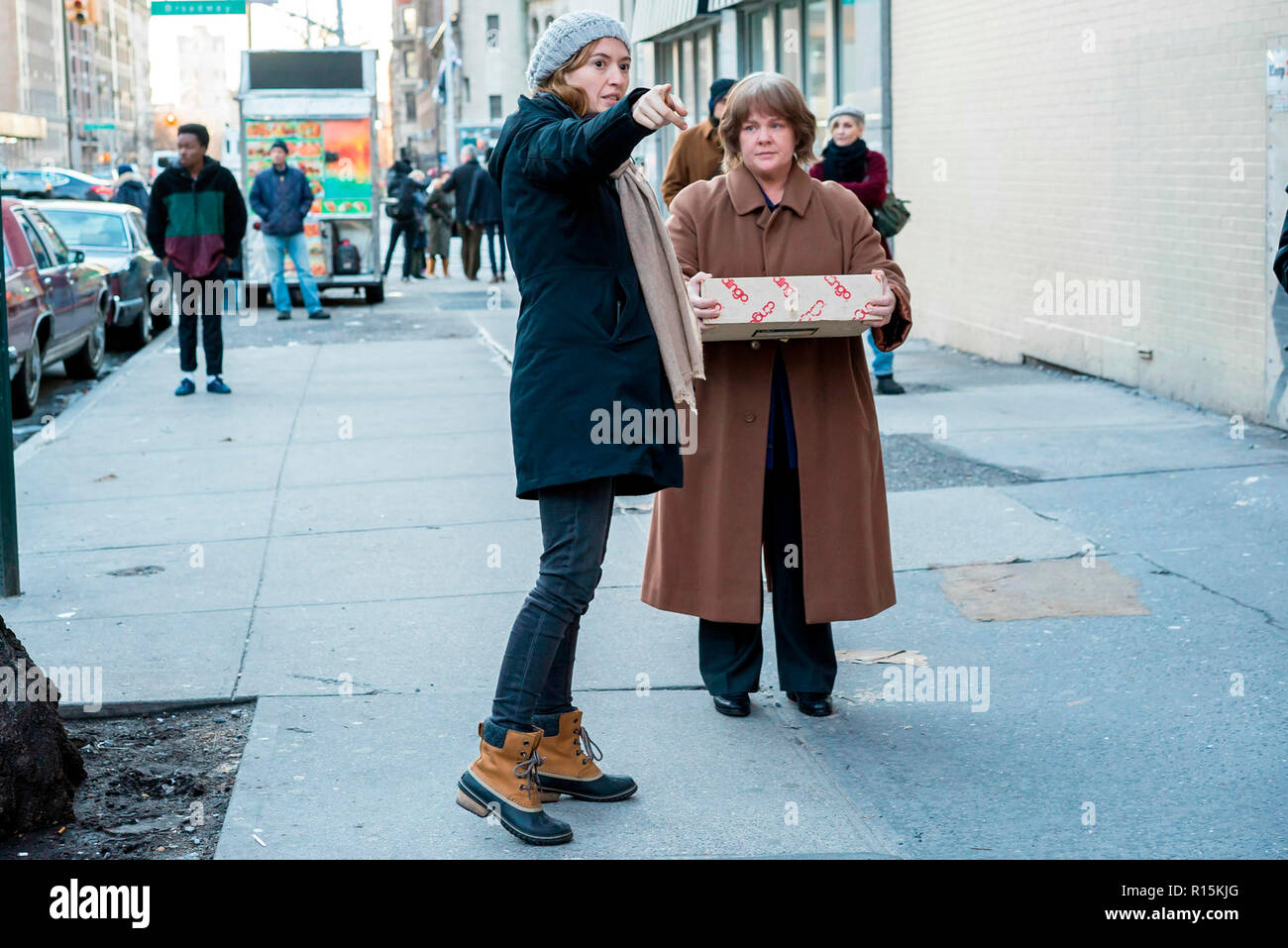 Prod DB © Mary Cybulski - Fox Searchlight Pictures - Archer Gray / DR CAN YOU EVER FORGIVE ME ? de Marielle Heller 2018 USA Melissa McCarthy sur le to - Stock Image