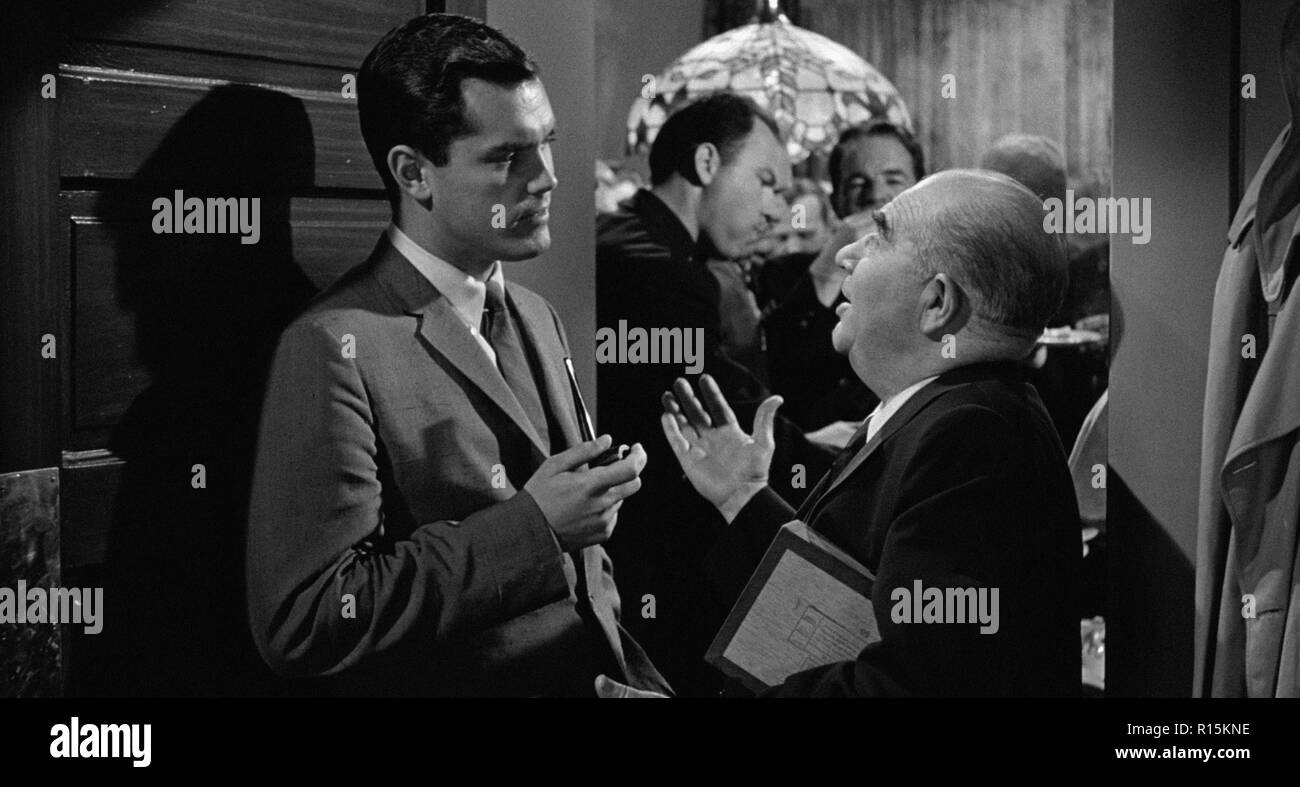 Prod DB © Columbia Pictures Corporation / DR LA DERNIERE FANFARE THE LAST HURRAH de John Ford 1958 USA Jeffrey Hunter Edward Brophy. d'apres le roman - Stock Image