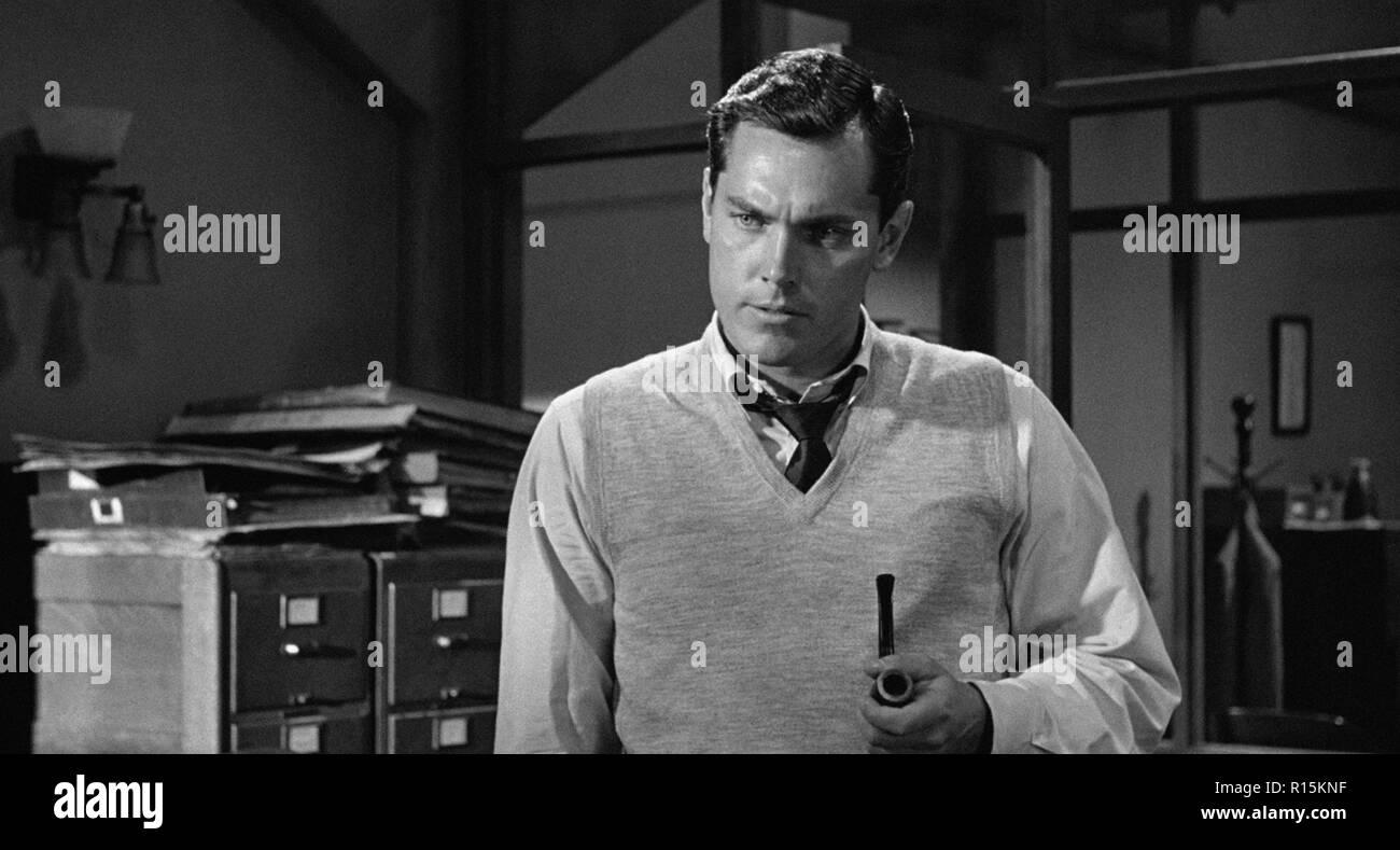 Prod DB © Columbia Pictures Corporation / DR LA DERNIERE FANFARE THE LAST HURRAH de John Ford 1958 USA Jeffrey Hunter. d'apres le roman de Edwin O'Con - Stock Image