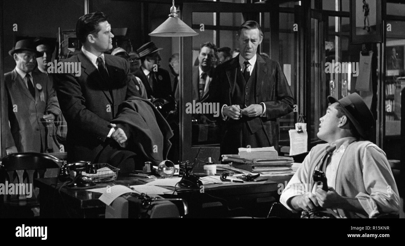 Prod DB © Columbia Pictures Corporation / DR LA DERNIERE FANFARE THE LAST HURRAH de John Ford 1958 USA John Carradine. d'apres le roman de Edwin O'Con - Stock Image
