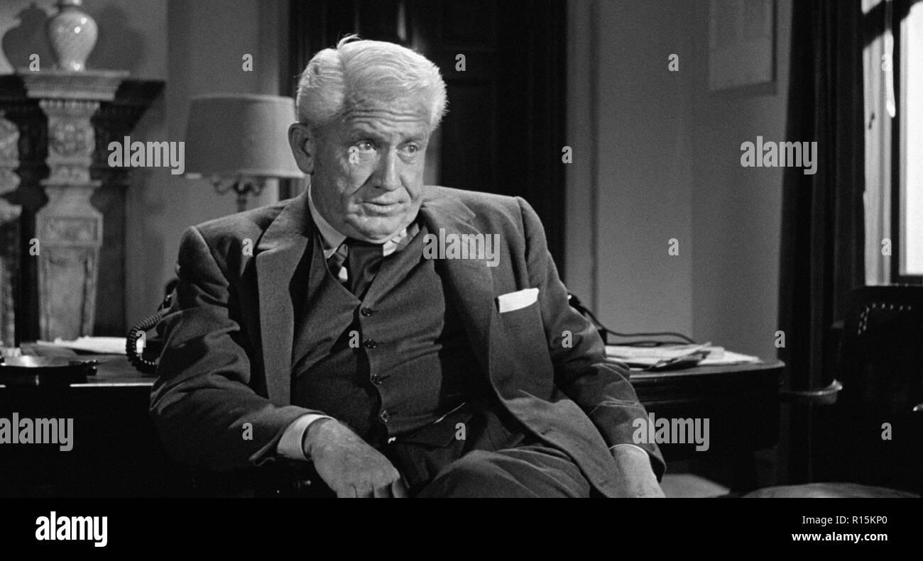 Prod DB © Columbia Pictures Corporation / DR LA DERNIERE FANFARE THE LAST HURRAH de John Ford 1958 USA Spencer Tracy. d'apres le roman de Edwin O'Conn - Stock Image